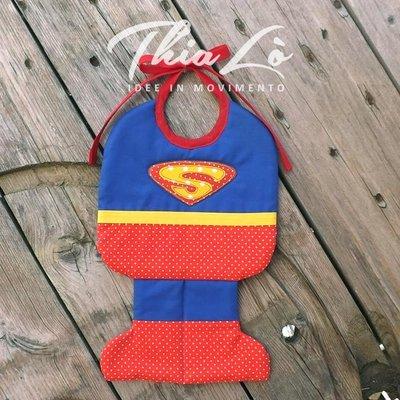 Bavaglino Superman in Cotone