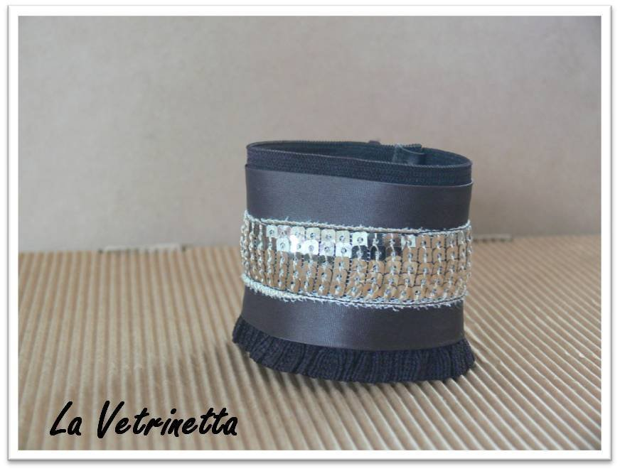 "Bracciale Polsino ""Rock and Roll"" - ""La Vetrinetta"""