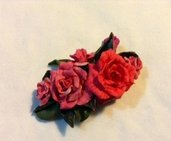 Ciondolo bouquet di rose