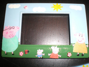 Peppa Pig Placca personalizzata per interruttori luce