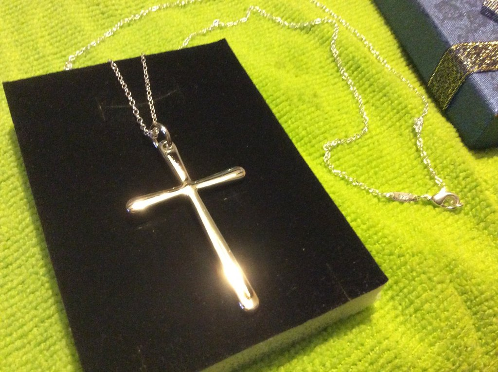 Croce argento