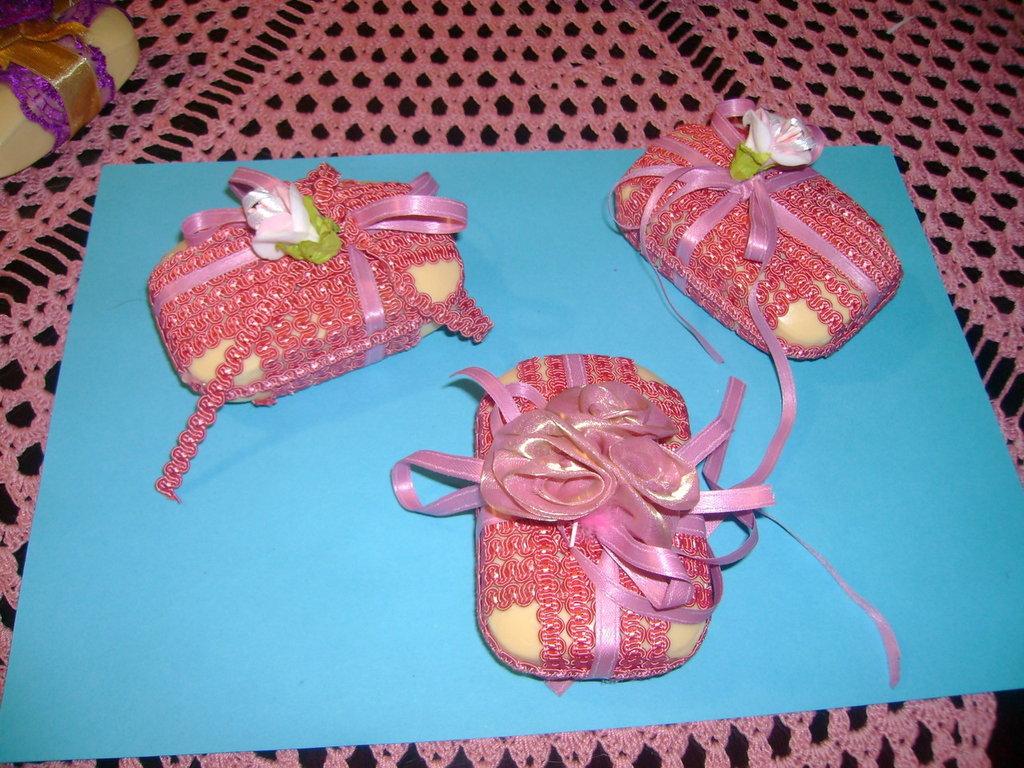 saponette profumate decorate artigianalmente