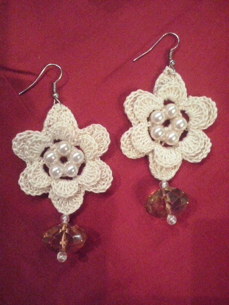 UNCINETTO orecchini fiore