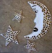 Luna e Stelle Mosaico