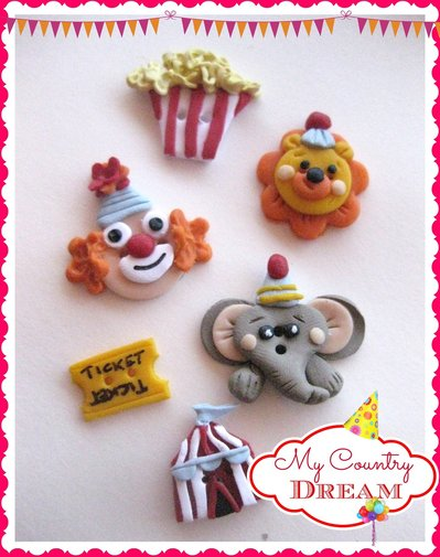 "Bottoni ""Circus"""