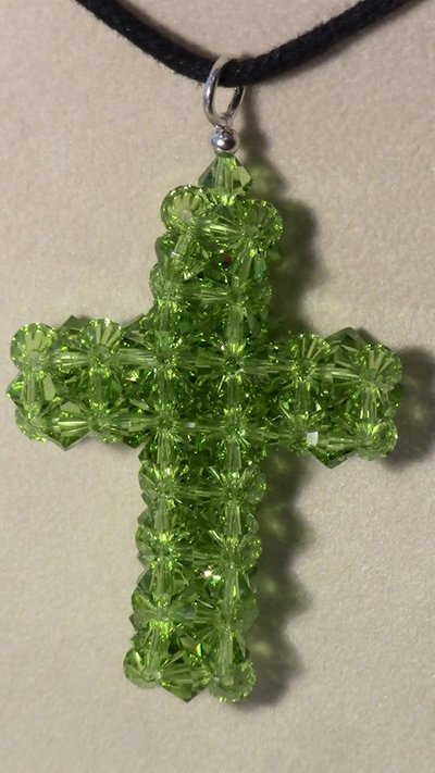 Croce in cristallo swarovski