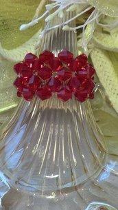 Anello in cristallo swarovski
