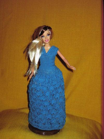 abito barbie colore turchese