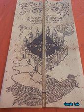 Mappa del Malandrino Harry Potter Marauder Map