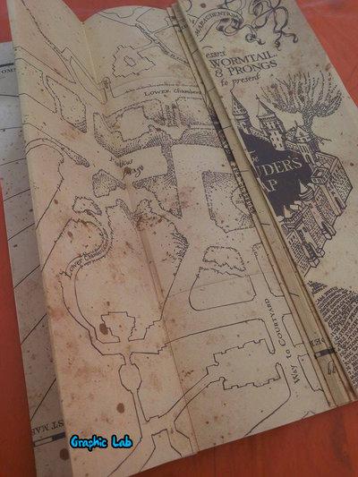 Mappa Del Malandrino Harry Potter Marauder Map Per La