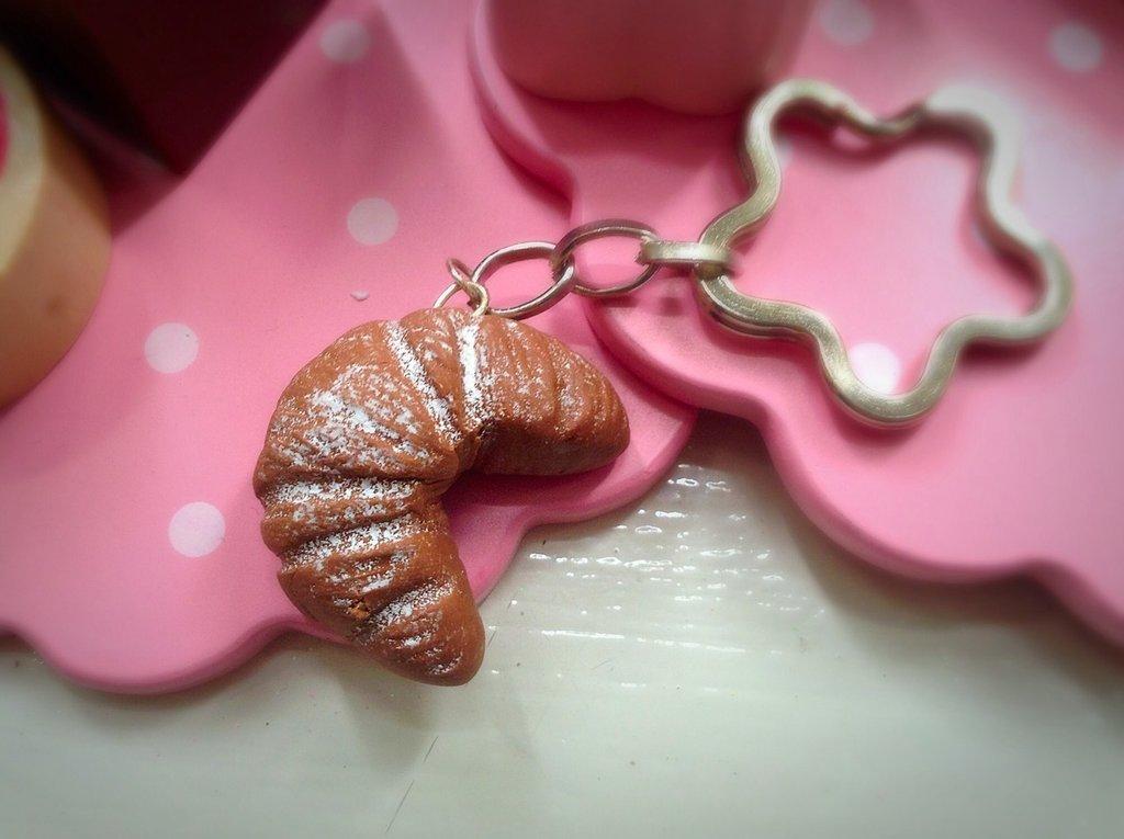 Portachiavi croissant