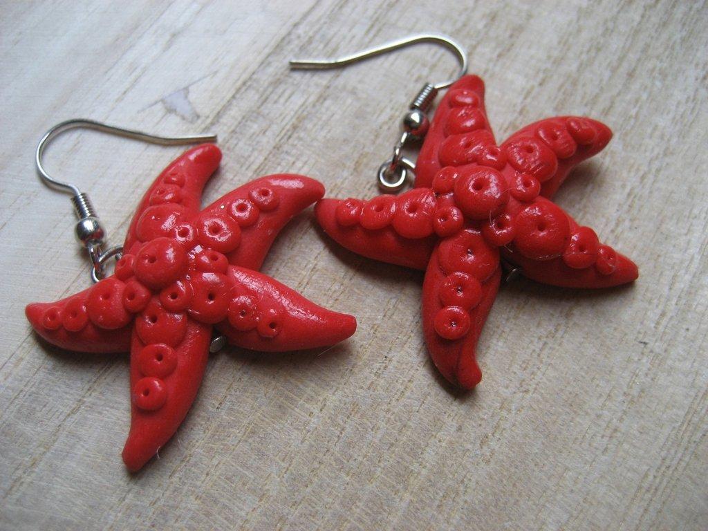stella marina orecchini