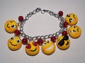 BRACCIALE EMOTICON