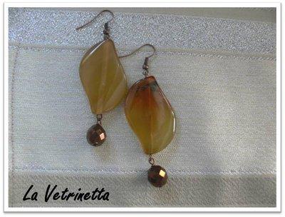 """Orecchini La Vetrinetta """"Leaf"""""""