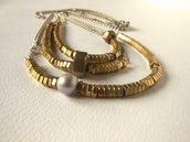 BOLTS by Cuorerosso - Collane oro e perla