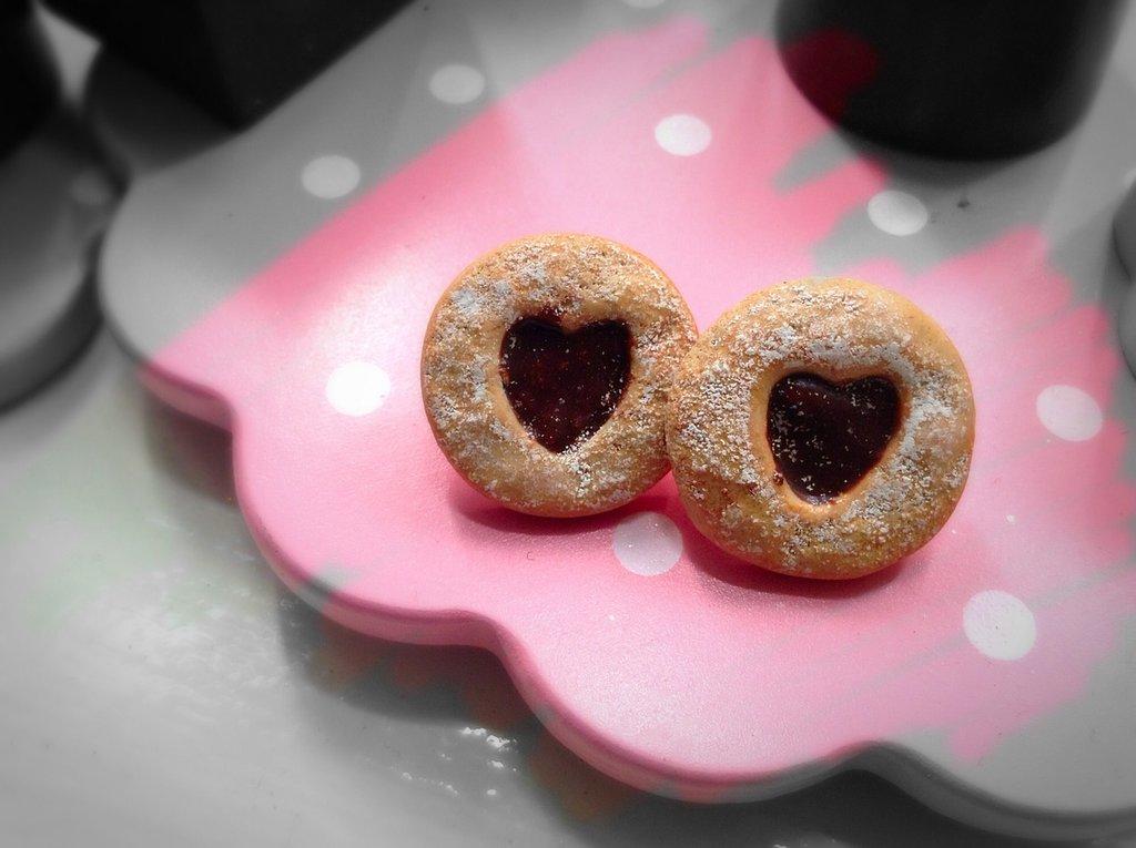 Orecchini biscotto