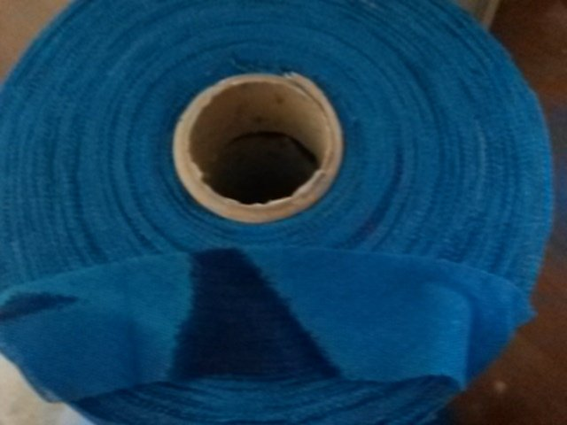 Fettuccia tulle turchese e blu