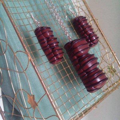 Parure Duplo in pasta polimera
