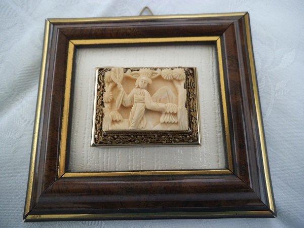 Quadro: scultura in avorio