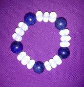 Opali e Lapislazzuli Bracciale elastico