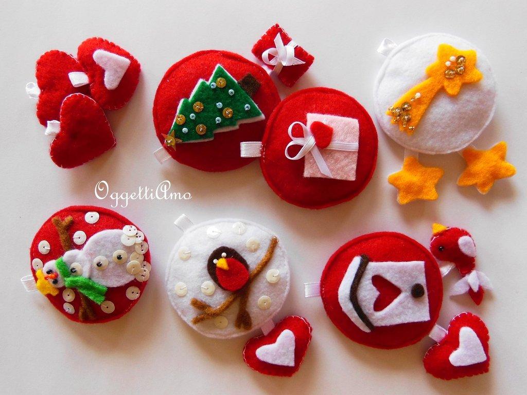 Decorazione per l'albero di Natale o portachiavi? Un addobbo che è anche un' originale idea regalo!