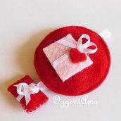 Addobbo natalizio REGALO DI NATALE: decorazione, portachiavi o idea regalo in feltro?