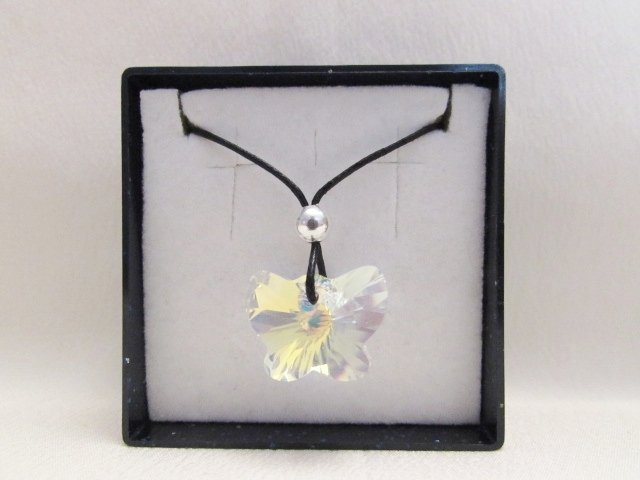 """""""Farfalla"""" - Ciondolo in cristallo Swarovski"""