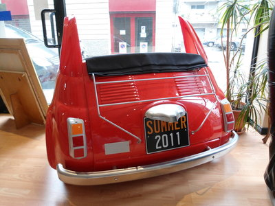 Divanetto Fiat 500