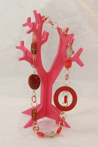 Collana Vintage Red