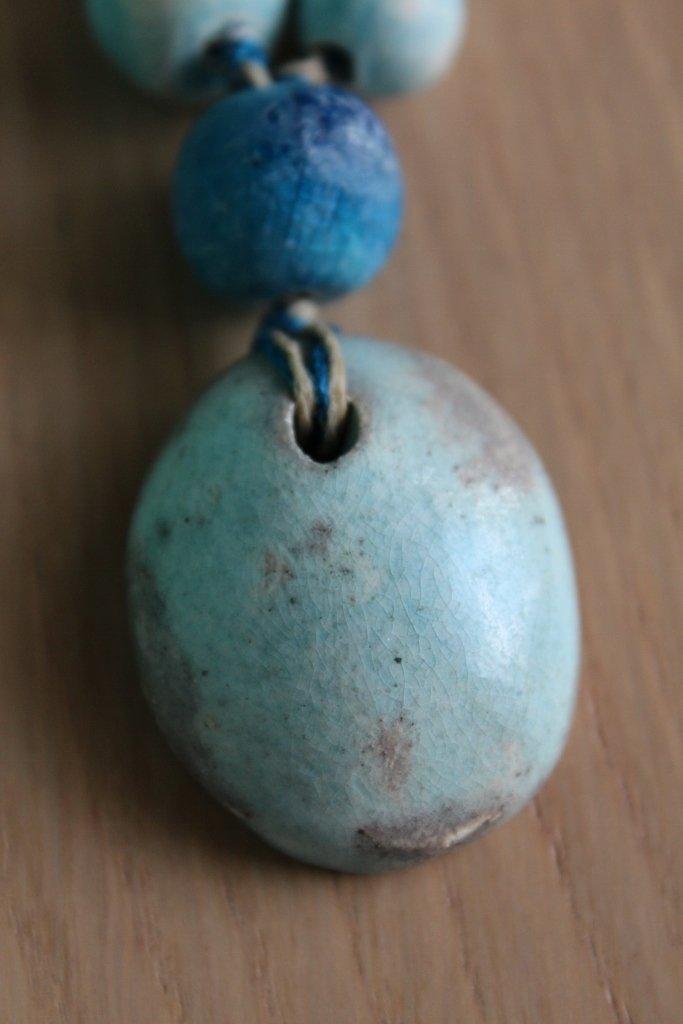 collana in ceramica turchese