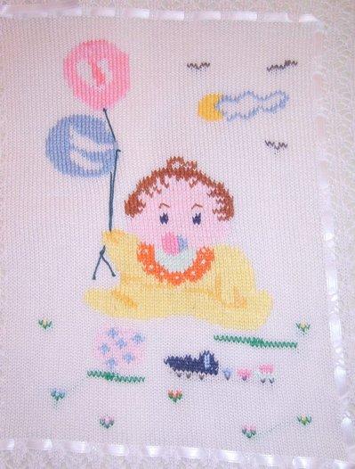 neonato copertina culla maglia cotone lana