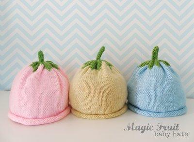 Cappellini in pura lana vergine, Baby Magic Fruit!