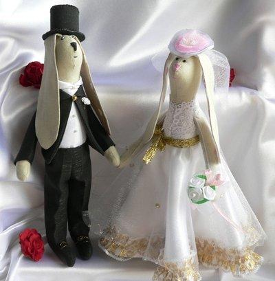Coniglietti Tilda sposi