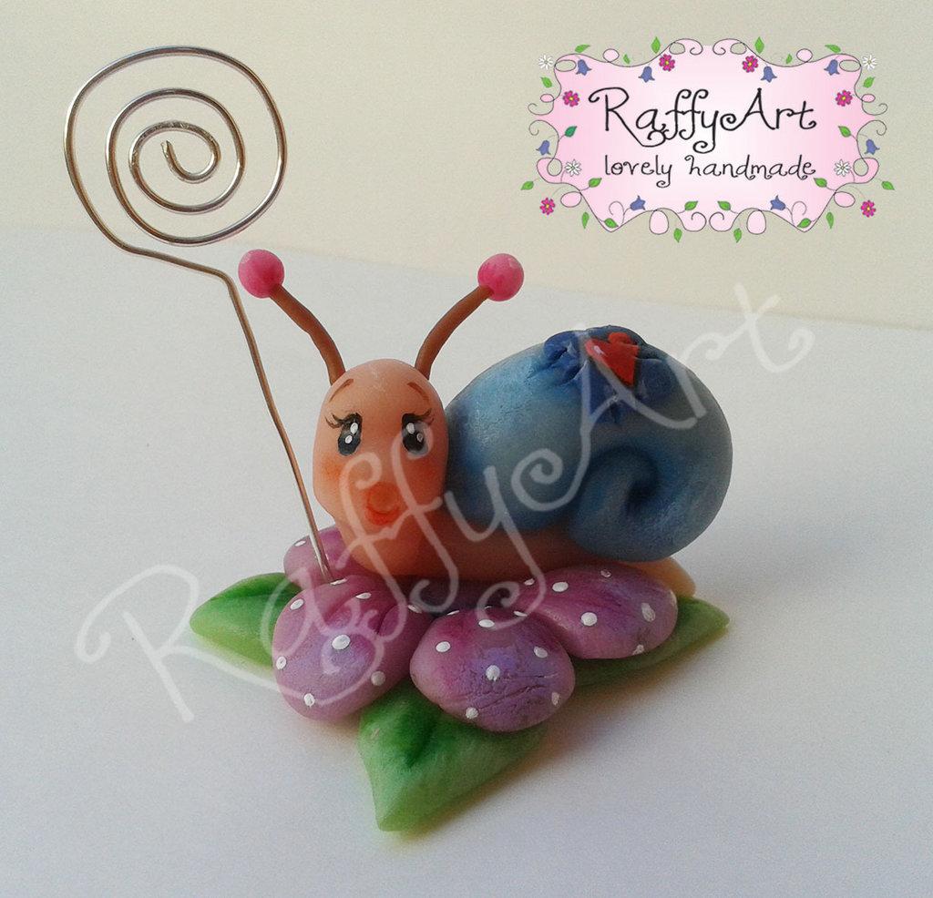 """SPESE DI SPEDIZIONE GRATUITE (almeno 5pz) - Bomboniera """"Country Snail"""" (personalizzabile)"""