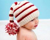 Cappellino In lana per Bebè, Cappello da Elfo