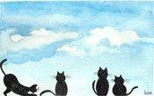 Gattini con nuvole 1°