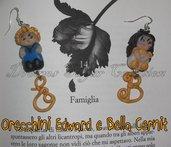ORECCHINI TWILIGHT: EDWARD & BELLA