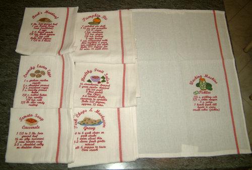 Asciughini da collezione