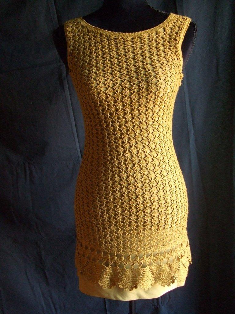 vestito donna uncinetto