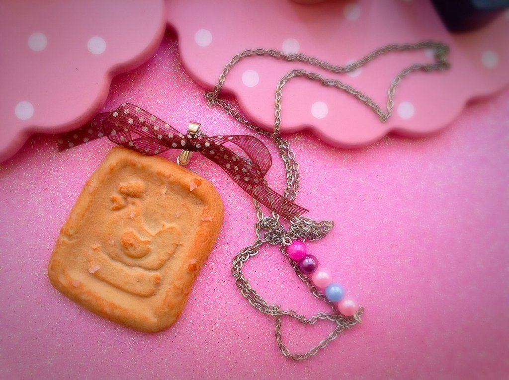 Collana biscotto galletti