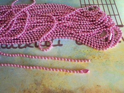 Base per collana a pallini rosa