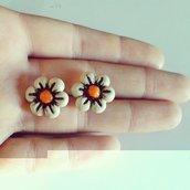 Orecchini fiori thun