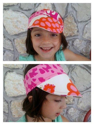 visiera fashion :-)