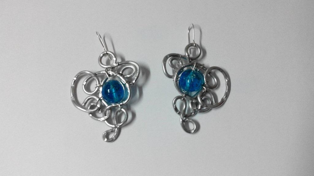 orecchini alluminio - barocco
