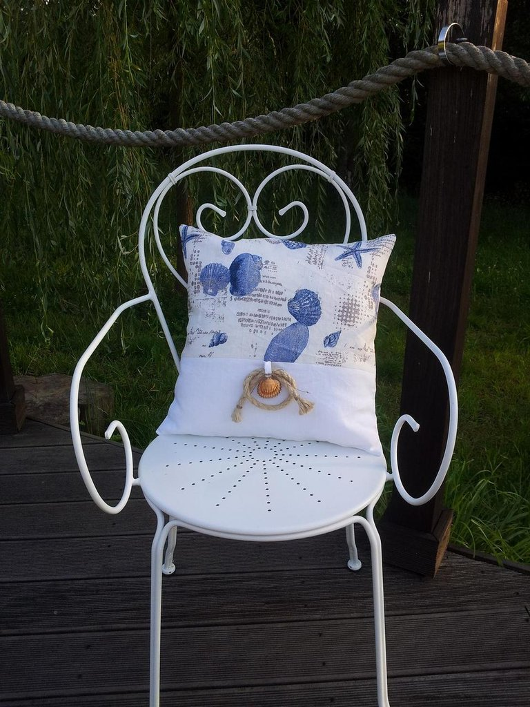 Cuscino in lino Brise de Mer