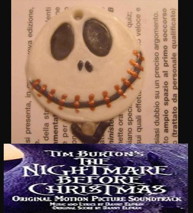 Collana Nightmare before christmas Jack Skeletron