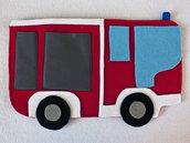 Porta pigiama camion dei pompieri