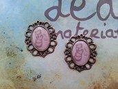 Cammeo in bronzo - tazzine vintage