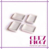 1 x piattino di ceramica in miniatura