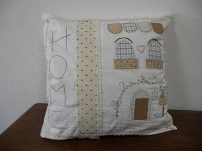 "Fodera cuscino ""HOME"""